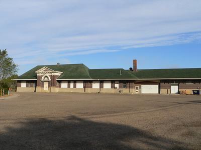 Milwaukee Road depot at Miles City, MT.