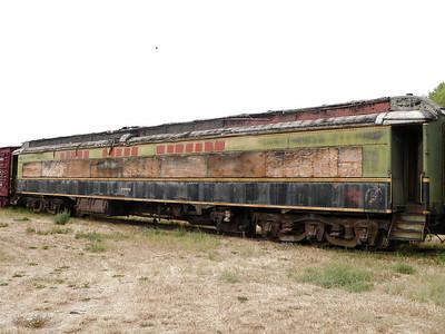 Grand Trunk Western passenger car #4862 rusting away at White Sulphur Springs, MT.