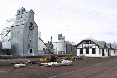 GN depot at Conrad, MT.