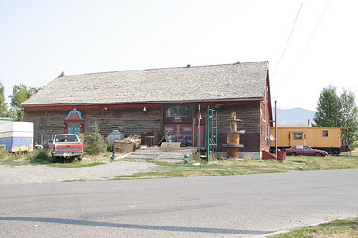 Trying to get more info about this building. It looks like an old RR structure and is close to the old NP depot in Bozeman, MT. This may be the 1880 NP freight depot.