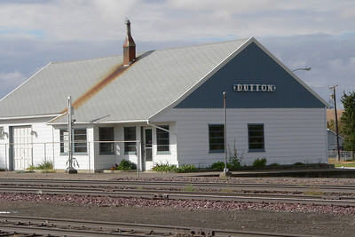 GN depot at Dutton, MT.