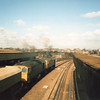11/04/86 - 33056 & 33201 departing with the 09 05 Cliffe to Park Royal
