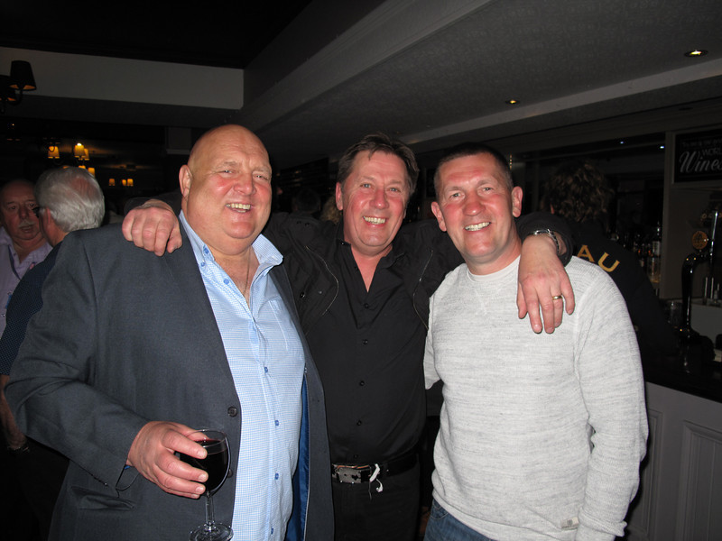 Les Waterworth,Danny Kaye and Howard Hewitt.13/05/2014.