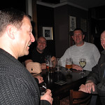 Steve Simon,Andy Charlton Howard Hewitt and Kenny Hastwell having a laugh.13/05/2014.