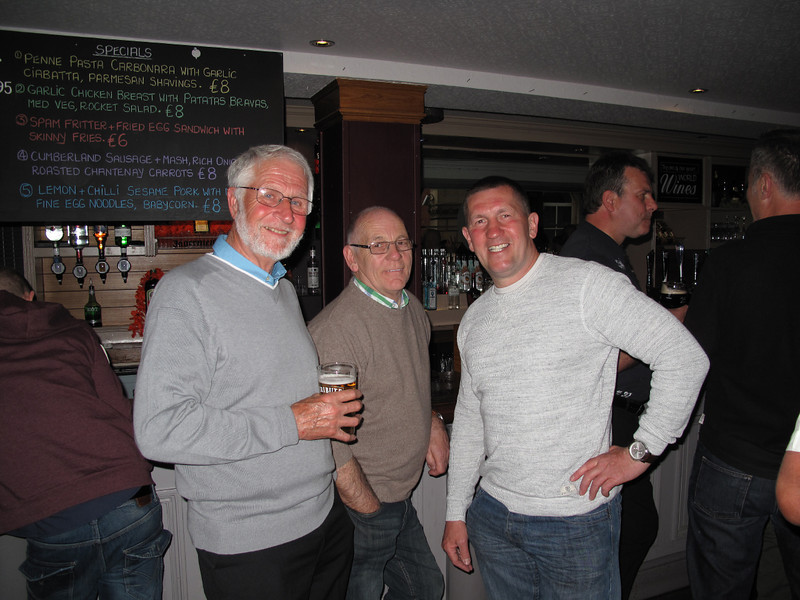 Ken Bannister,Les Liversidge and Howard Hewitt.13/05/2014.