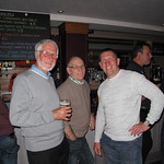 Ken Bannister,Les Liversidge and Howard Hewitt.13/05/2014.