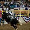 PRCA bull riding at the National Western Stockshow, Denver, Colorado