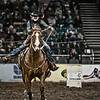 Women's barrel racing at the National Western Stockshow, Denver, CO.