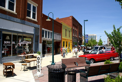 Antique shops - downtown Hutchinson