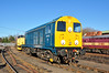 Mainline registered 20107 gleams in some welcome Winter sun at Barrow Hill 02/02/2013.