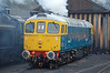 """A cold start for 33065 """"Sealion"""" at Wansford on the Nene Valley railway 03/03/2007."""