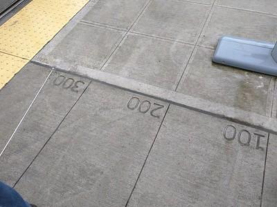 Art on the sidewalk.