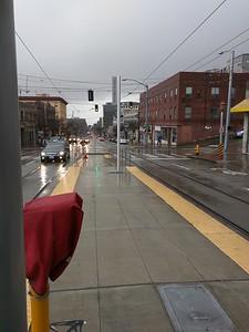 Looking west on Jackson Street.