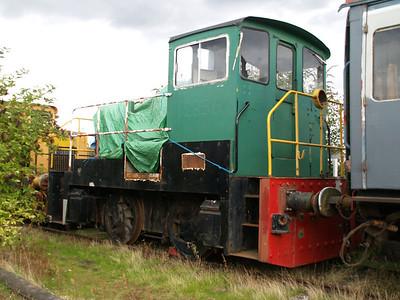 Yorkshire Engine Co 0-4-0DE D2856 Long Marston 18/09/10.
