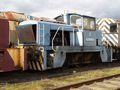 English Electric Vulcan 0-6-0DH 2/D1233 'Kemira' Long Marston 18/09/10.