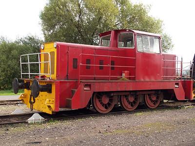 Hunslett Engine Co 0-6-0DH 7276 Long Marston 18/09/10.