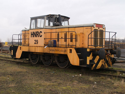 Hunslett Engine Co Ltd 0-6-0DH (7017) HNRC 29 at Flixboro Wharf  22/01/11