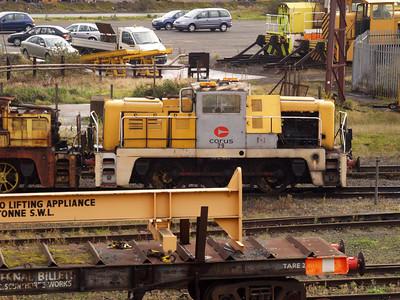 Yorkshire Engine Co 0-6-0DE No29 (2938) Scunthorpe Steel Works 10/11/07.