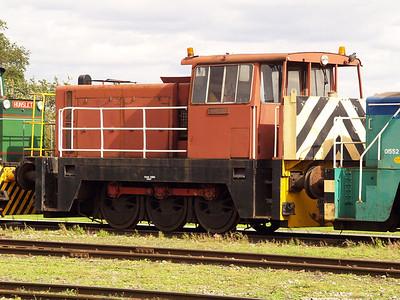 Hunslett Engine Co 0-6-0DH 7003 'Rachael' Long Marston 18/09/10.