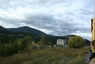 View of the Indland Portland Cement Plant built in 1910. Metaline Falls