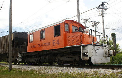 Iowa Traction #54 was built in 1923 by Baldwin-Westinghouse.