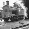 Belfast York Road shed was bashed prior to the tour on which was ex SLNCR 0-6-0 27 Lough Erne - which did not participate on the tour.