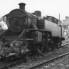 UTA WT 2-6-4T 56 on shed at Belfast York Road prior to working the tour.