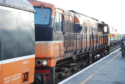 The Irish Traction Group's Class 141 farewell railtour from Dublin to Sligo and return using the RPSI heritage stock...and a Class 071 (the 141s were deemed unfit by the CMEE)