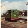 No 4 Loch running round her train at Port Erin in June 1974.