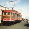 Snaefell Mountain Railway in May 1986.
