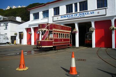 Douglas horse tram depot.