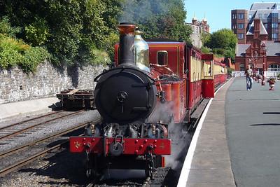 Loch prepares to depart Douglas.