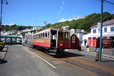 The Douglas terminus of the Manx Electric Railway.