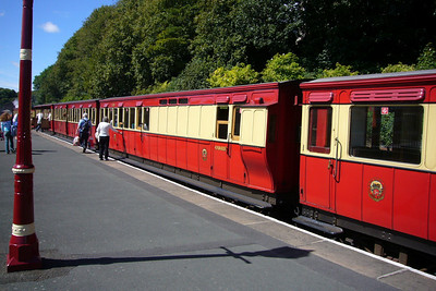 Isle of Man Steam Railway rolling stock at Douglas.