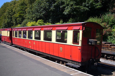 Isle of Man Steam Railway rolling stock.