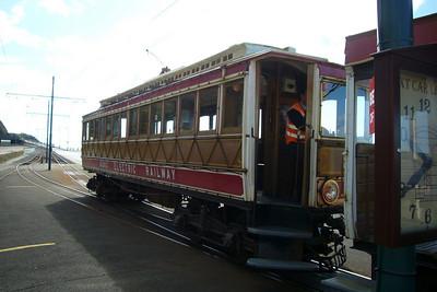 MER tram at Douglas.