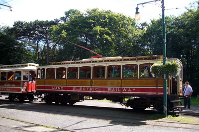 MER tram at Laxey.