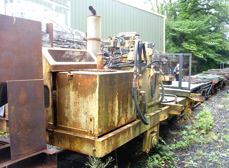 No No. 4w Generator Wagon - Isle of Man Steam Railway 28.07.18  John Bishop