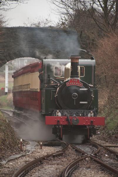 Kissak approaching Castletown