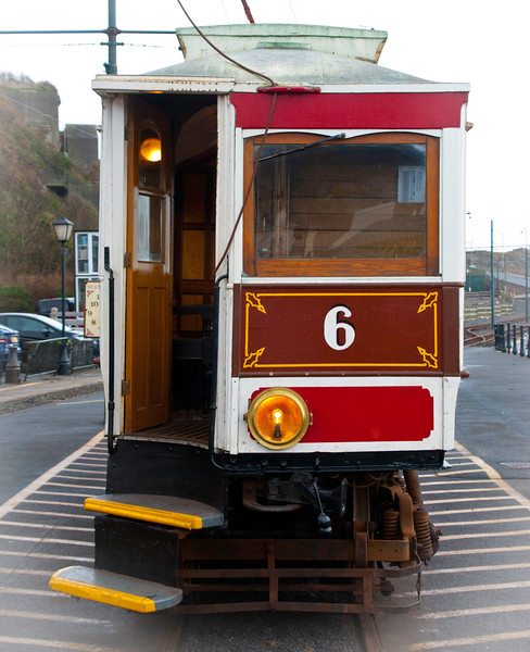 'Tunnel Car' Number 6 at the Douglas terminus