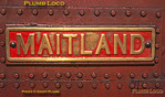 Maitland Nameplate, Douglas, 28th August 1963