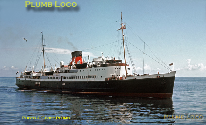 "TSS ""King Orry"", Douglas, 28th August 1963"