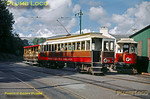 Manx Electric Railway No. 9 & No. 1, Laxey, 28th August 1963