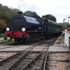WD192 Waggoner arrives at Haven Street on 20/09/11.