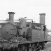 70H Ryde St Johns Road shed and W26 Whitwell is at rest (15/08/64) - she had over 2 further years of service - lasting until December 66.