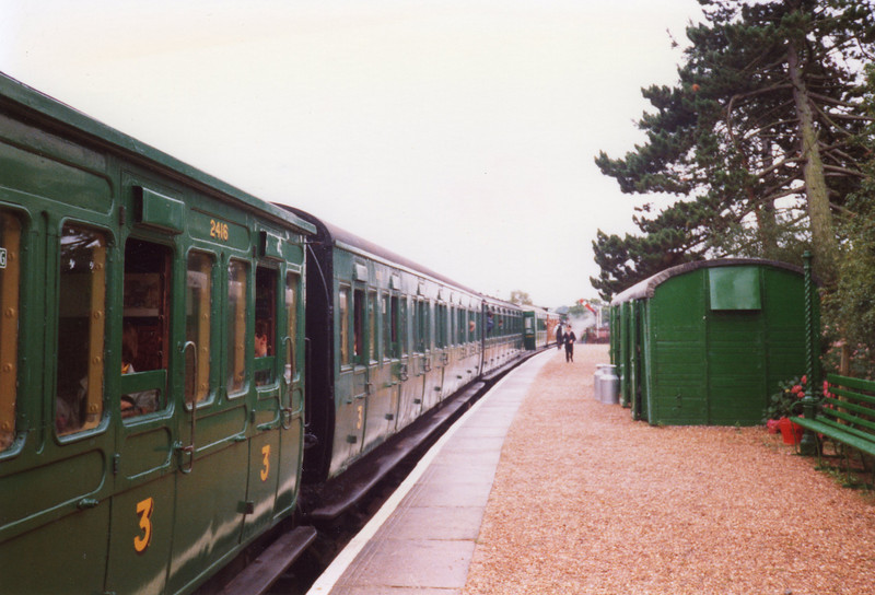 General scene at Wootton in August 1988.
