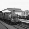 Another O2 lasting until December 66 was W17 Seaview - seen calling at Ryde St Johns Road with a Ventnor service in August 64.