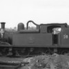 """W28 Ashey at Ryde St Johns Road shed in August 64 - another """"final"""" withdrawal in December 66."""