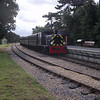 Class 03 D2059 (vice steam failure) arrives into Wootton with the 10 45 ex Havenstreet on 12/09/12.