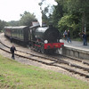 WD198 Royal Engineer at Wootton on 12/09/12 - having arrived with the 11 02 ex Smallbrook Junction.